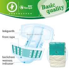 adult nappies diaper which have high absorption and dryness surface breathable