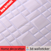 China factory cheap sale mosaic design wallpaper quotes white