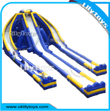 Lilytoys Cheap good design giant inflatable water slides for kids and adults