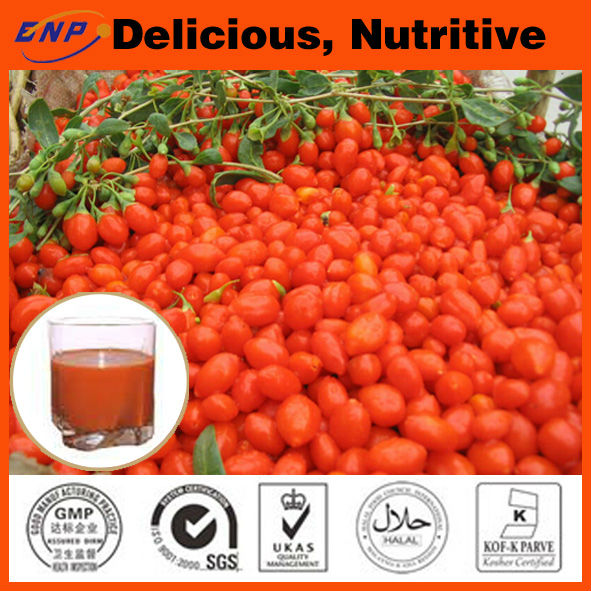 New Crops 100% Natural Goji Concerntrate Juice Brix 36