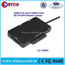 USB 3.0 hub combo with card reader Adapter