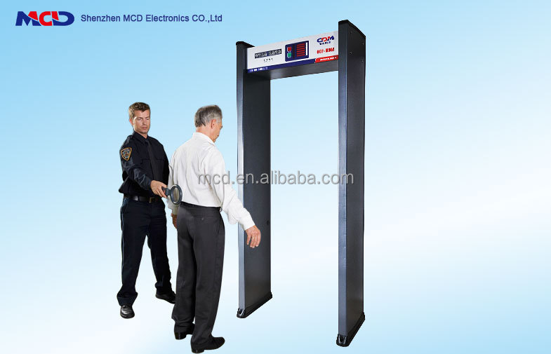 Professional Walkthrough Metal Detector Apply To Factory, Court, Gym, Concert, Jail MCD-100
