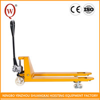 With Low Height Working HPT5115-3T CE hydraulic hand pallet truck for carry cargo