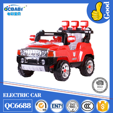 2017 hot selling children electric ride on toy car with remote