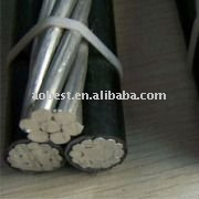JKLV xlpe insulated al core aerial boundled cable
