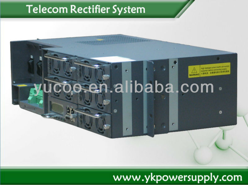48V /5760W telecom rectifier 120A with 4pcs 30A module