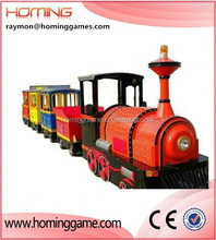 British style electric trackless train/ trackless train/Mini Trackless Outdoor Lighted Trains Christmas