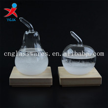 Fruit Shape Glass Weather Predictable Forecast Liquid Glass Barometer