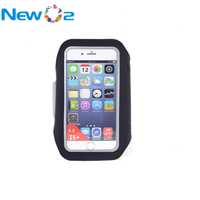Wholesale Eco-friendly neoprene Lycra fabrics mobile sport cellphone armband case