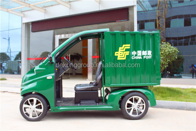 M 1 seat 4 wheels electric express delivery car /vans