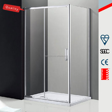 High quality Italian design 3 sides sliding glass shower enclosure/ cubicle/ cabin MD-GJ005
