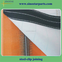sludge dewatering vacuum filter belt