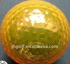 2pcs colored Plated Golf Ball with patent