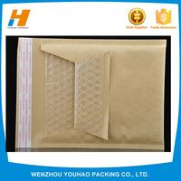nontoxic custom design recycled colored kraft bubble paper envelope made in China