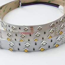 5m led Chip Black chip High Quality SMD5050 <strong>RGB</strong>+W LED CE FCC RoHS good-looking Flex LED Strip