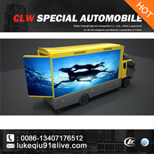 P10 P6 mini color screen LED advertising truck