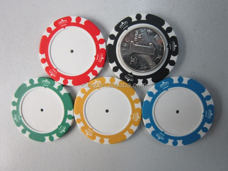 14 Gram Colorful Clay Poker Chips hb flash stamp/crystal pre-inked stamp
