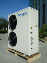 high COP heat pump air conditioner, R410A refrigerant, Copeland compressor, 17.5kw cooling capacity