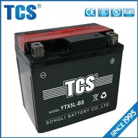 High quality mf motorcycle battery 12v 5ah VRLA battery China manufacturer