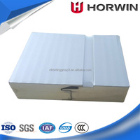 factory stainless checker polyurethane sandwich panel for roof