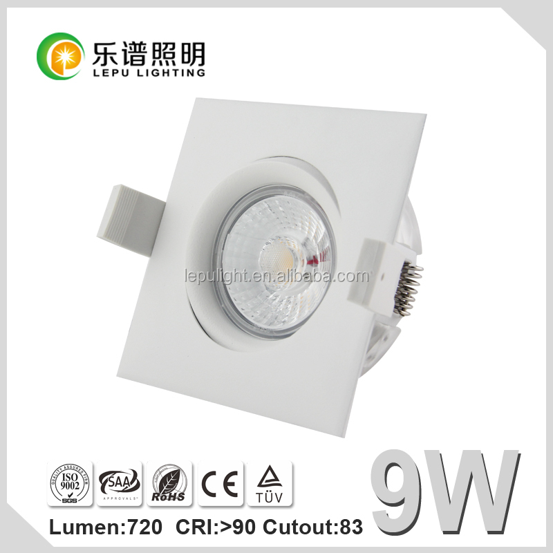 Hot selling 360 angle tilt dimmable cob led downlight cob led downlight Actec driver