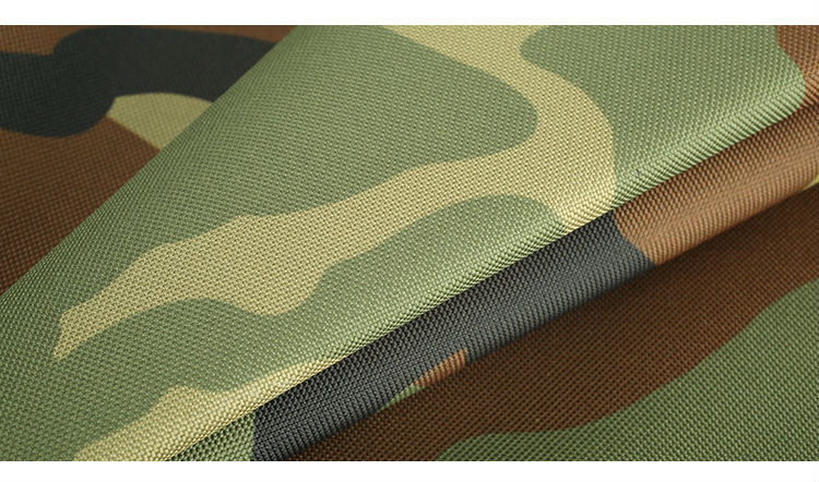 Camouflage fabric polyester 600d oxford cordura fabric