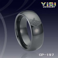 2016 spring trendy jewelry,Black ceramic ring,Mason jewelry