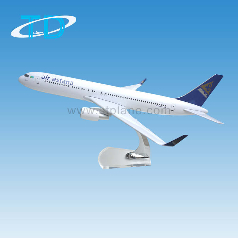 B767-300ER air astana 1:200 27cm toy aircraft