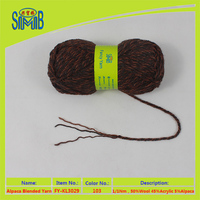 shanghai blended yarn manufacturer wholesale cheap price wool acrylic yarn
