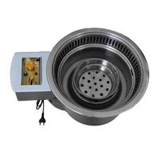 Stainless Steel Indoor Charcoal No Smoke BBQ Grill for family use from china best manufacturer