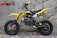 QWMOTO cheap 49cc gas dirt bike mini pocket bike motorcycles 49cc gas mini moto dirt