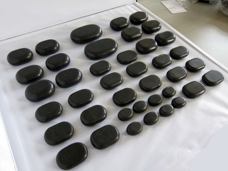 Massage rock,energy stone for spa massage