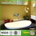 Inexpensive, pastel color water base liquid for bathroom coating