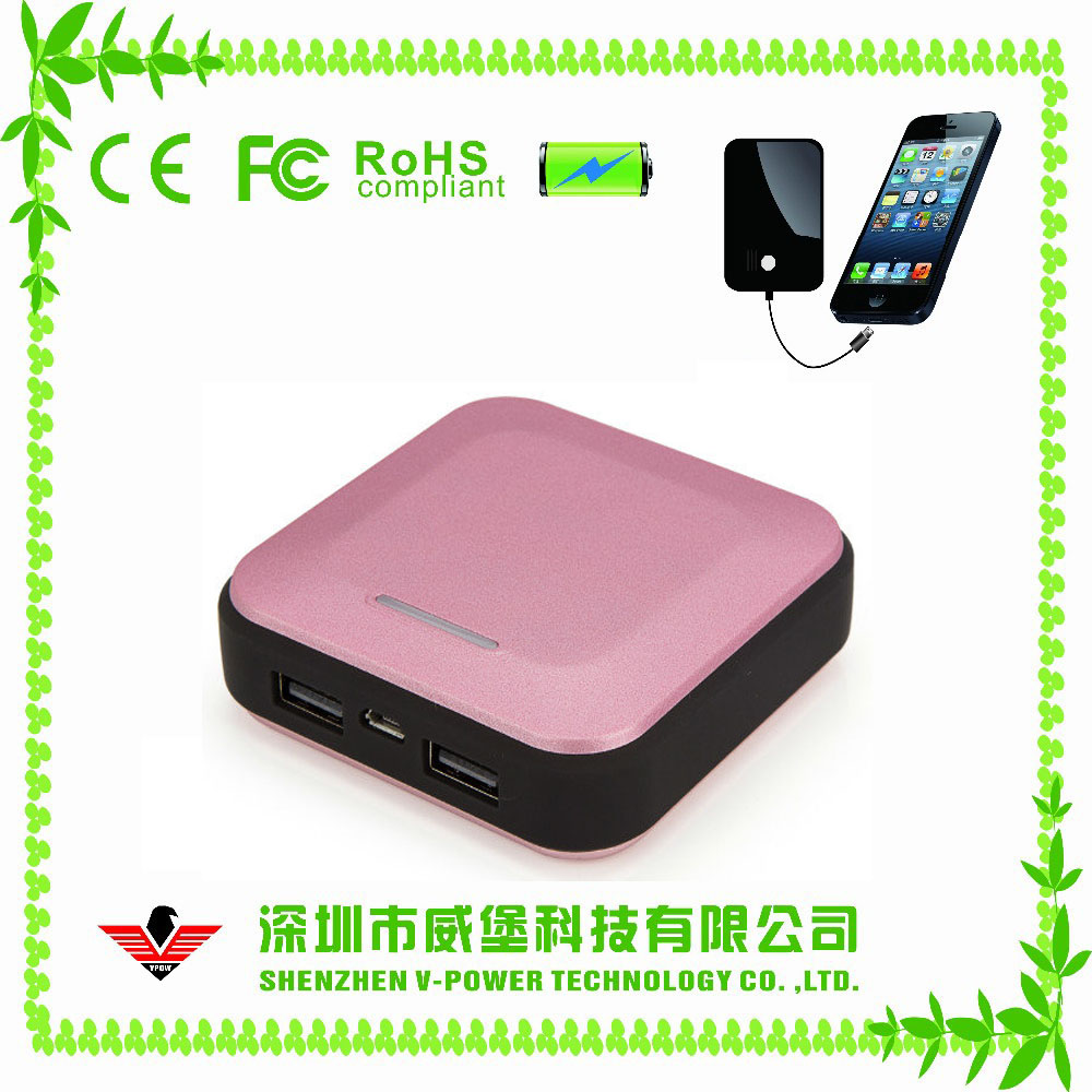 Hot Selling Smart Slim Power Bank 10000mah,Lipstick Power Bank