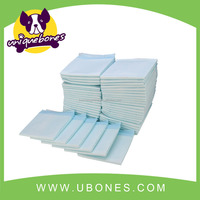 Light green disposable puppy pads cheap puppy training pads pet training products