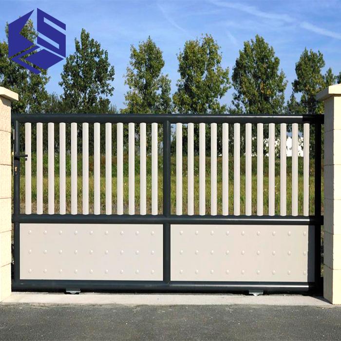 Hot Sale Main Gate Design Home Sliding Stainless Steel