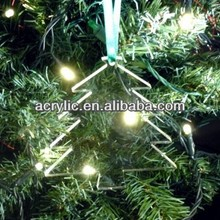 laser cutting new outdoor christmas tree shape ornament