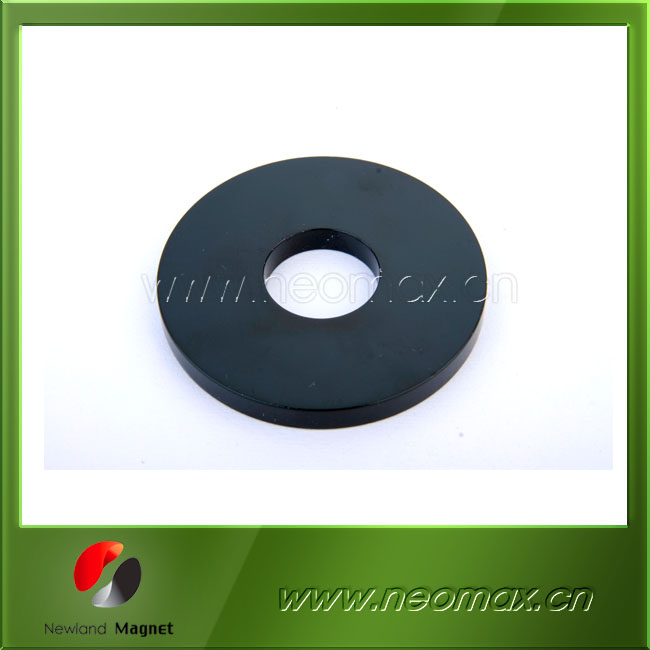 Strong Epoxy coating ndfeb ring magnets motor magnet