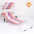 Beach folding chair bed aluminum,easy-take Hot one