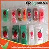 Plastic apple mini zip lock bags with apple brand
