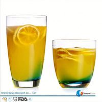 Sanzo Custom Glassware Manufacturer 150ml tempered drinking glass