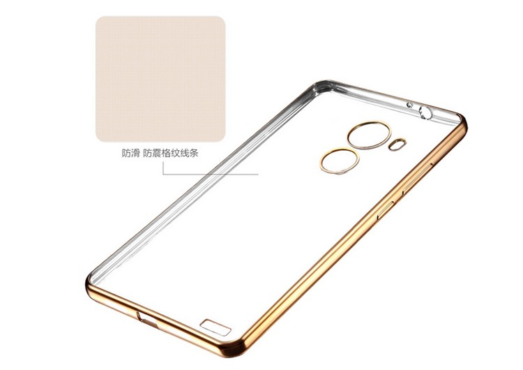Electroplating TPU Case mobile phone accessories case cover for huawei mate 8 mobile phone cover