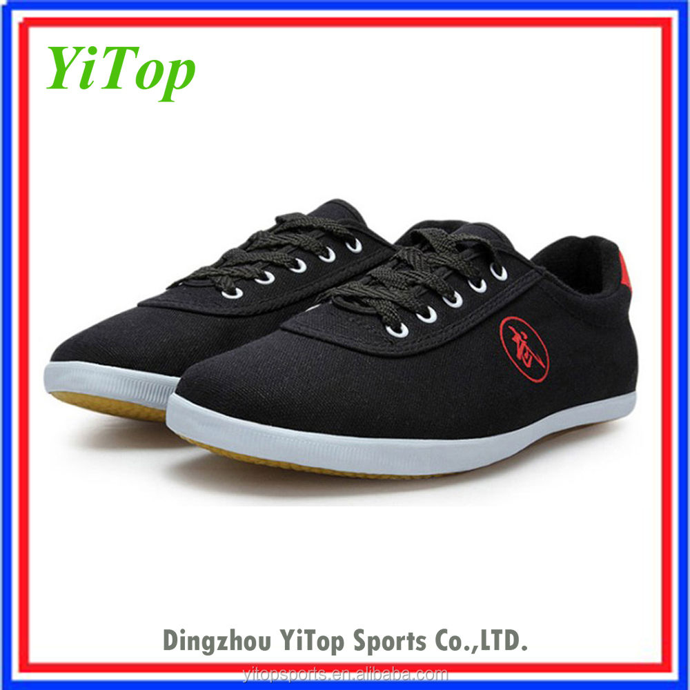 cheap canvas martial arts shoes