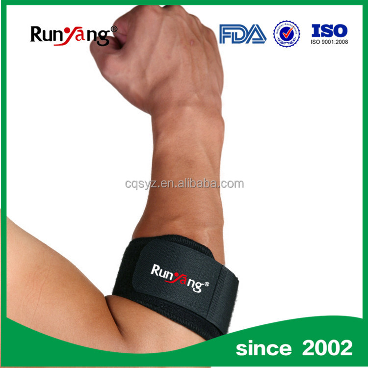 Professional high elastic tennis elbow support / brace made in China