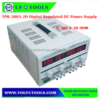 TPR-3003-2D Digital Regulated DC Power Supply Triple Channel 30V 3A Precision AC Power Supply Voltage Stabilizer 90W