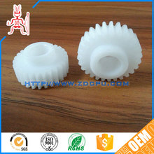 New design eco-friendly plastic double spur gears