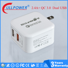 CE CUL FCC certificate new qc3.0 charger