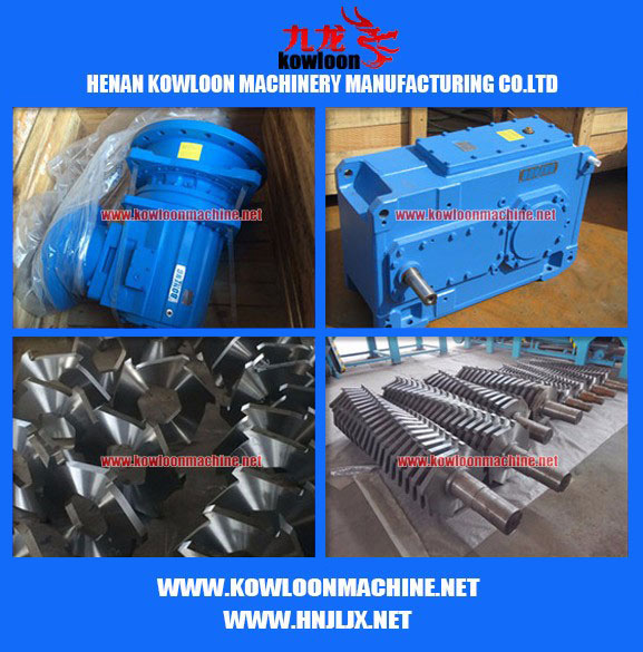 Replaceable knife scrap metal pre shredding equipment car crusher