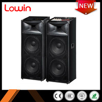 2.0 Professional hi fi Tower Speaker with USB/SD/FM/Remote/Guitar input/wireless MIC 8/10 inch