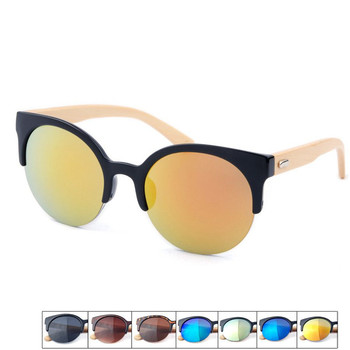 2018 new Bamboo Temple sunglasses with Polarized PC lens